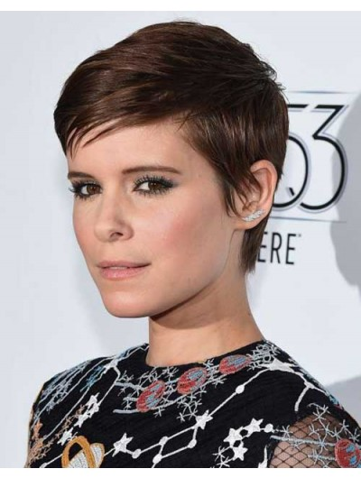 Cropped Pixie Remy Human Hair Boycuts Wig