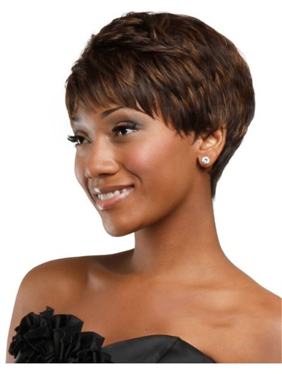 New Stylish Afro Pixie Cut Synthetic Wigs