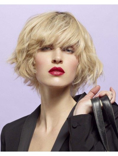 Blonde Temptation Short Synthetic Hair Wig