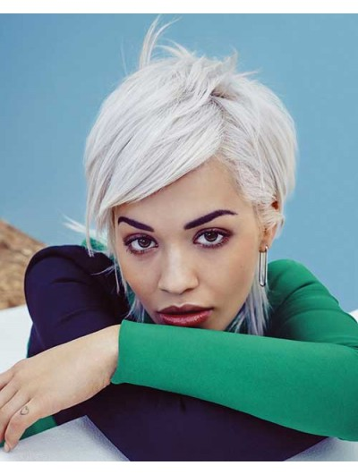 Celebrity Short Hair Straight Lace Front Wig