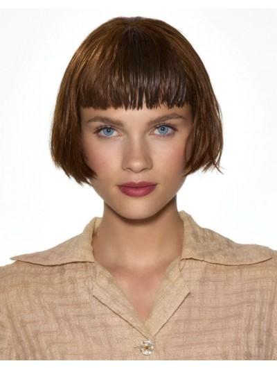 Wavy Capless Short Remy Human Hair Bobs Wig