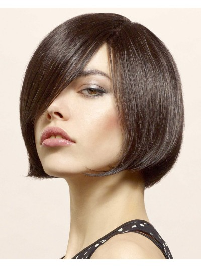 Chin Length Bob Hairstyles Lace Front Wig