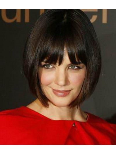 Chin Length Hair Cuts Ideas Straight Capless Wig