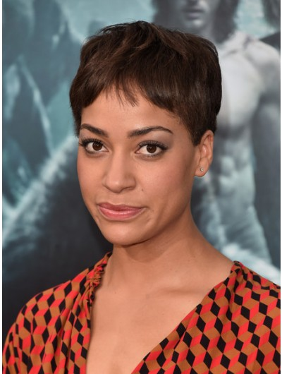 Cush Jumbo Capless Short Hairstyles Pixie Wig