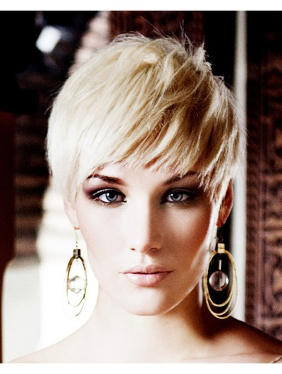 Cute Very Short Hairstyle Wig