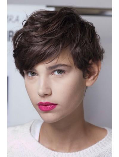Synthetic Hair Cute Pixie Haircut Wig