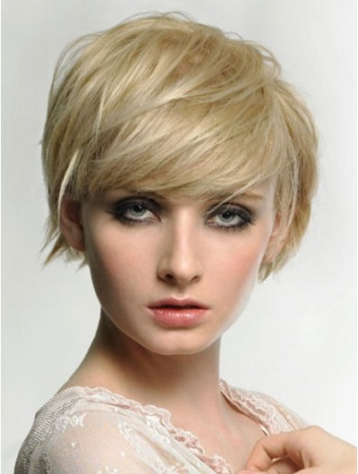 Hairstyles Long Face Capless Short Wig
