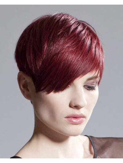 Above Ears Hairstyle Capless Short Wig
