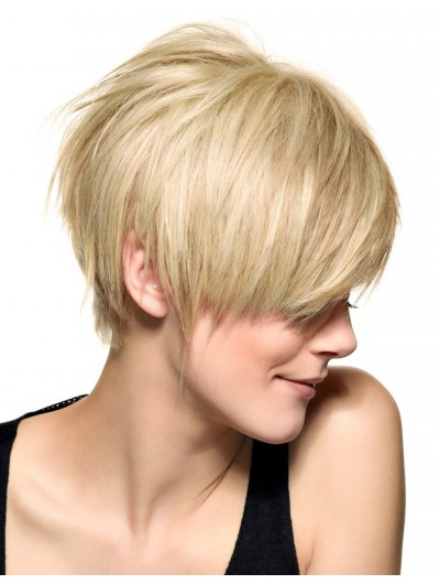Jagged Short Haircut Cropped Wig