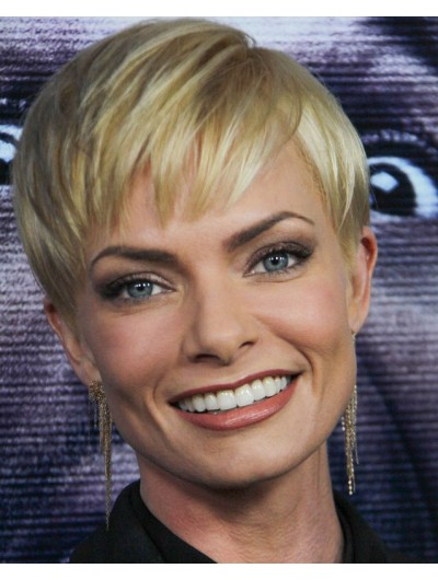 Jaime Pressly Pixie Synthetic Hair Wig
