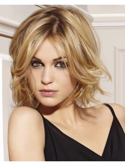 Short Lace Front Haircut With Casual Volume Wig