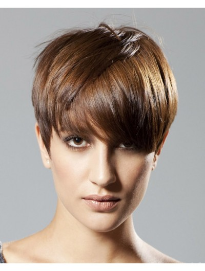 Mild And Flattering Short Haircut Wig