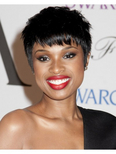 Pixie Black Hair Capless Short Wig