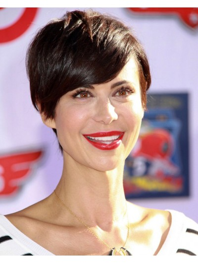 Wavy Pixie Haircuts Catherine Bell Wig