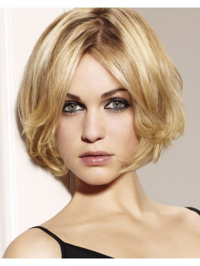 Lace Front Short Synthetic Hair Bobs Wig