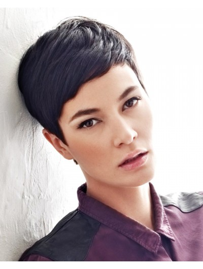 Short And Fresh Hairstyle Straight Wig