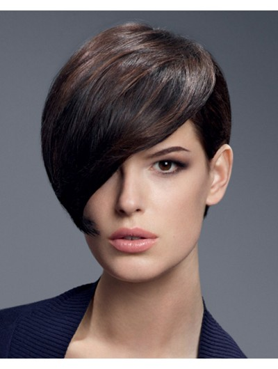 Short And Messy Hairstyle Synthetic Hair Wig