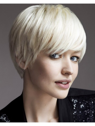 Short Choppy Bob Synthetic Hair Wig