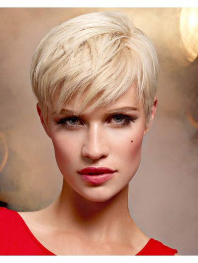 Short Hairstyle With Texture Wig