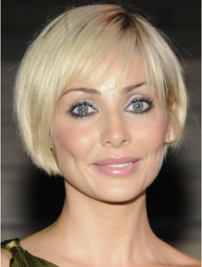 Synthetic Short Bob Angled Haircuts Wig