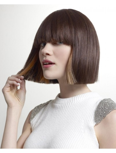 Two Toned Surprise Bobs Short Wig