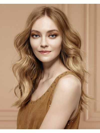 Soft And Feminine Hairstyle Long Synthetic Hair Wig