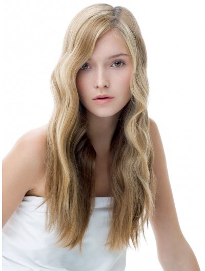 Sporty Elegant Look Lace Front Long Wig