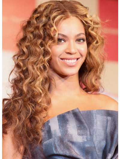 Top Curly Hairstyles Lace Front Long Wig