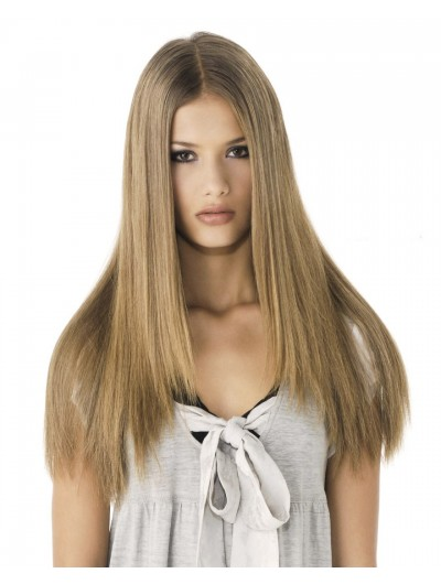 Super Straight Long Hair Lace Front Long Wig