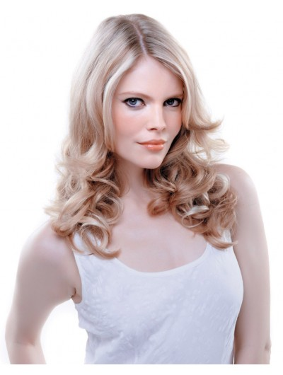 Balmain Lace Front Long Synthetic Hair Wig