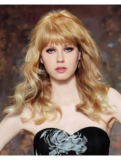 Brigitte Bardot Look Capless Long Wig