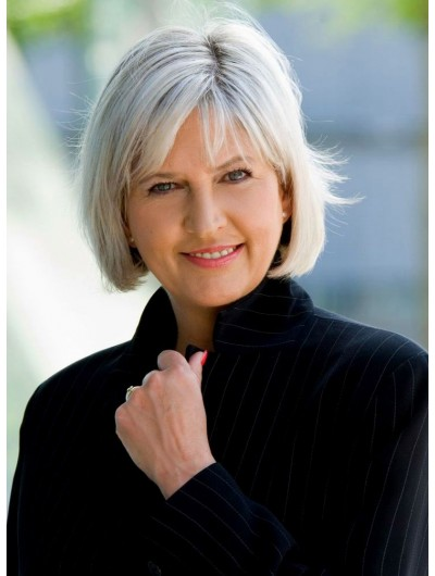 Lace Front Short Synthetic Hair Straight Bobs Wig
