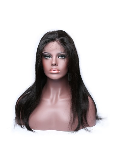 Lace Front Human Hair Wigs Straight Brazilian Remy Hair Lace Wig for Black Women