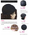 Low Maintenance Hairstyle Capless Wig